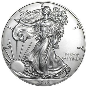 2018 American 1 oz Silver Eagle
