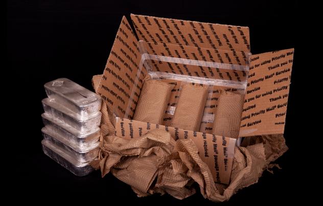 shipping silver bullion
