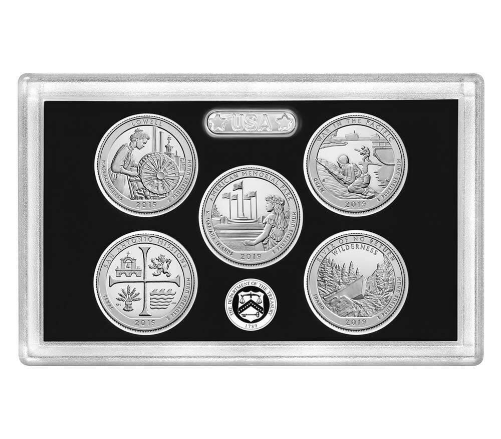 2019 America the Beautiful .999 Silver Proof Quarters