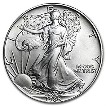 1986 Silver Eagle BU