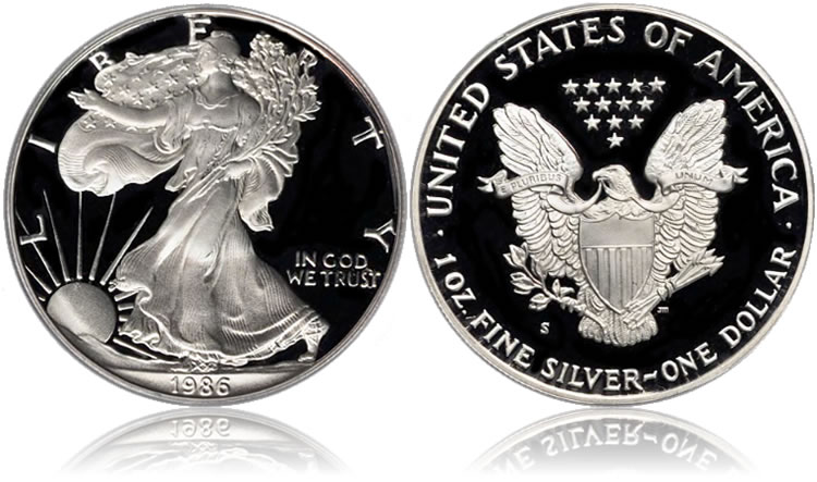 1986 Silver Eagle Proof Coin