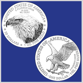 2021 American Eagle Coin Reverse Designs