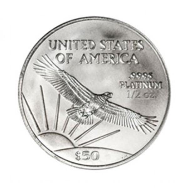 Compare platinum prices of American Platinum Eagle 1/2 oz - Random Year