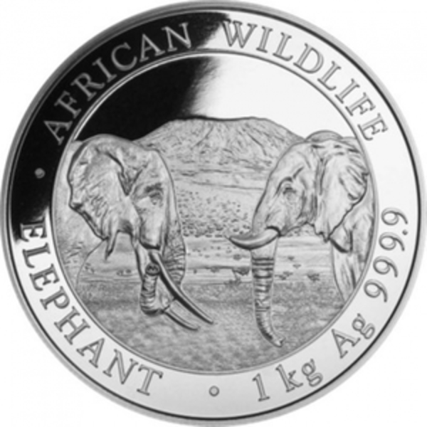 Compare silver prices of 2020 Somalia 1 kilo Silver Elephant