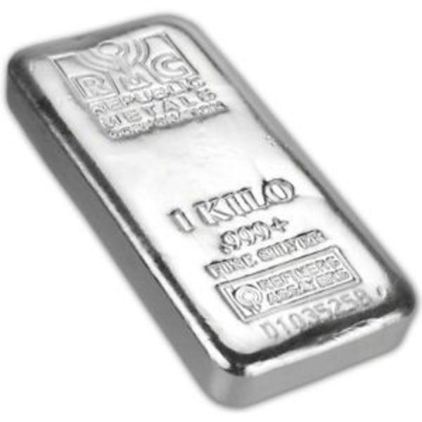 Oz Silver Bar Republic Metals