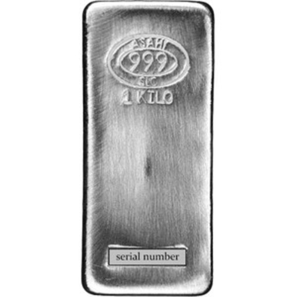 Compare cheapest prices of Asahi 1 Kilo Silver Bar