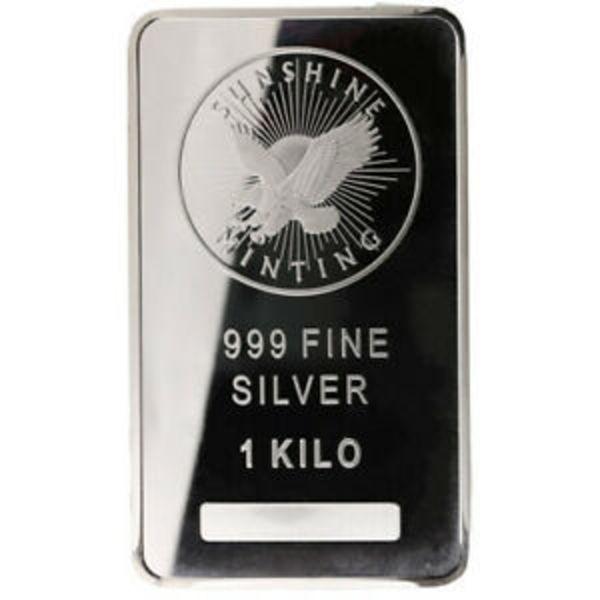 1 Troy oz Sunshine Mint .999 Fine Silver Bar Mint Mark SI Sealed 1