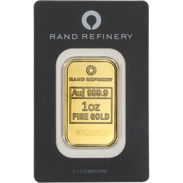 Compare gold prices of 1 oz Gold Bar Rand Refinery