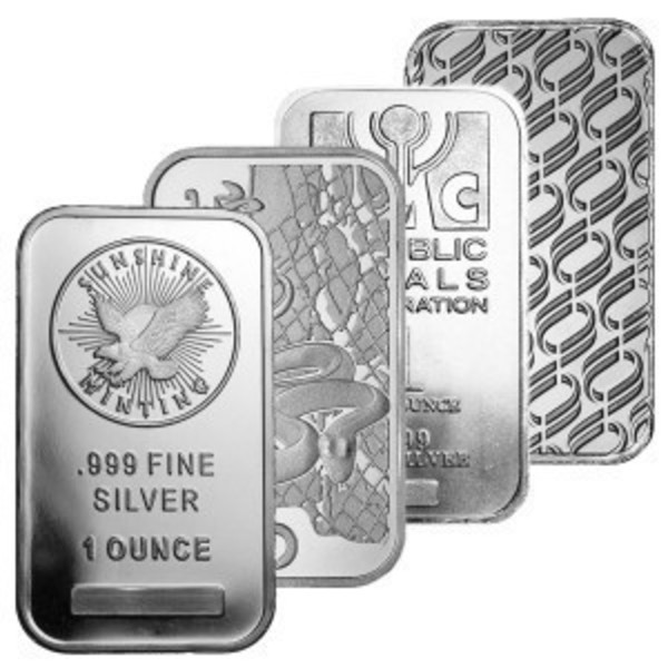 Compare Silver Bars prices