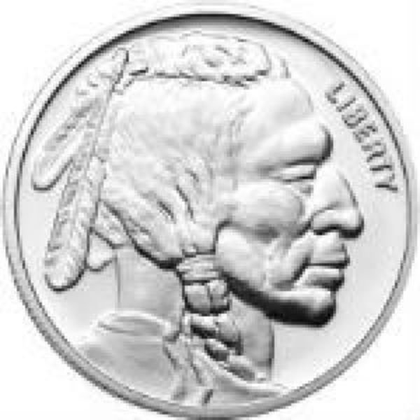 Buffalo 1 oz Silver Rounds