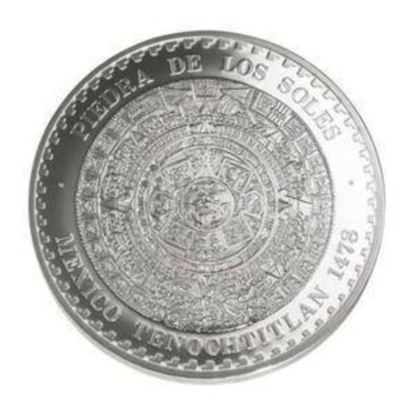 Compare silver prices of 1 oz Aztec Calendar Silver Round