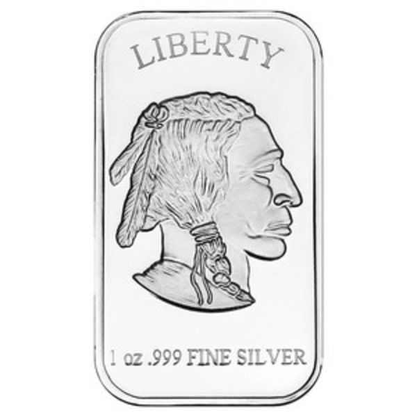 Compare silver prices of SilverTowne Indian Head Buffalo 1 oz Silver Bar