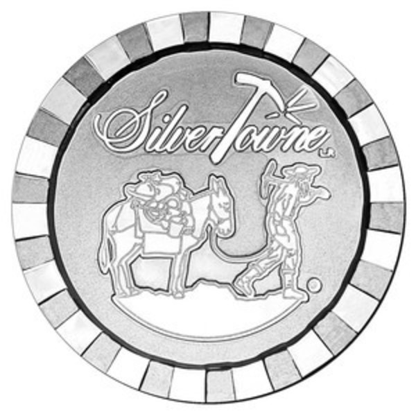 Compare silver prices of 1 oz Silvertowne Prospector Stackable Silver Round