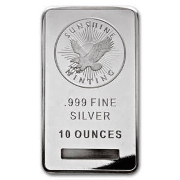 Buy 10 Oz Silver Bars Online At The Lowest Price