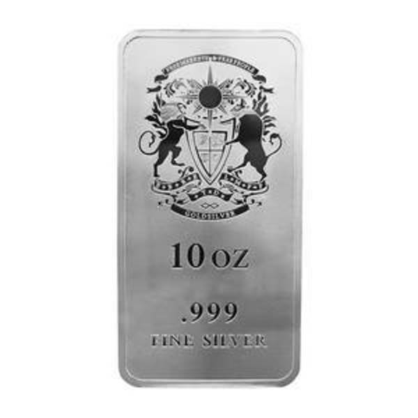 Compare silver prices of 10 oz GoldSilver Crest Silver Bar