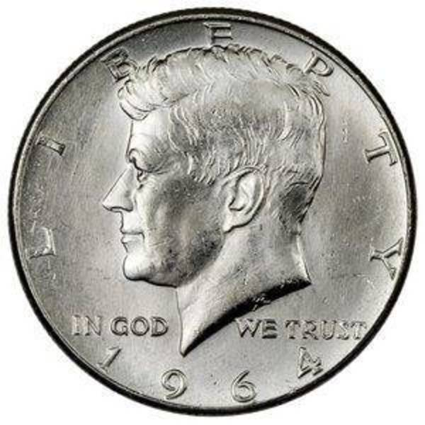 Compare 90% Silver 1964 Kennedy Half Dollar 20-Coin Roll prices