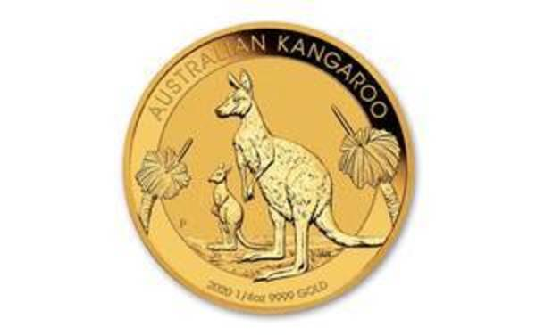 Compare gold prices of 2020 Australian 1/4 oz Gold Kangaroo