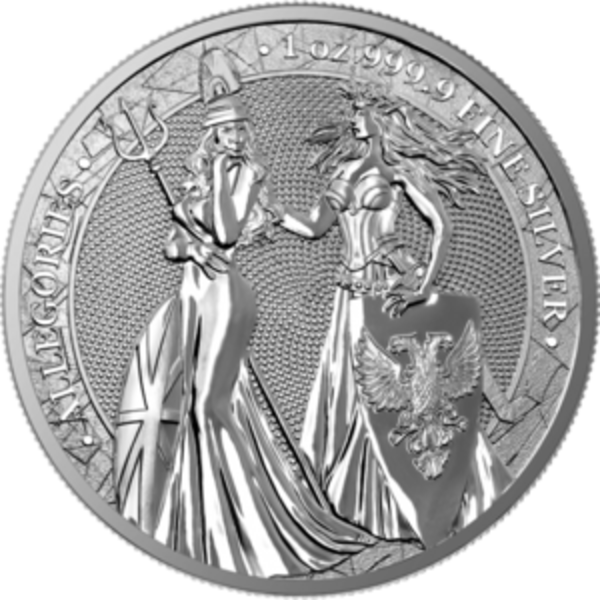 Compare silver prices of 1 oz Silver Round 2019 Germania Allegories Round Britannia