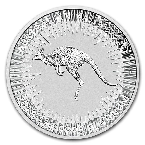 Compare platinum prices of Platinum Kangaroo Perth Mint - Random Year