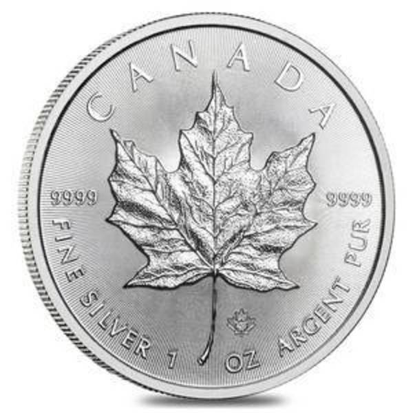 Compare silver prices of 2020 Canadian Maple Leaf 1 oz Silver Coin