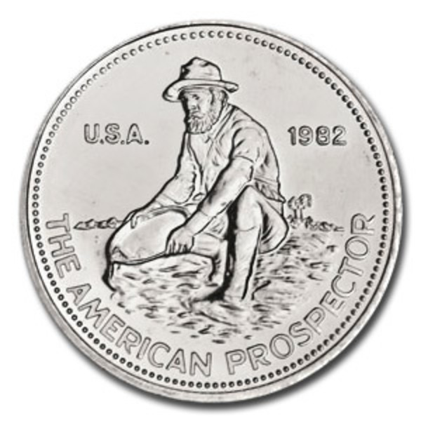Compare silver prices of Engelhard Prospector 1 oz Silver Round