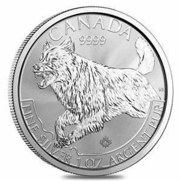 Compare silver prices of Canadian Predator Series - WOLF, 1 Troy Oz, .9999 Silver