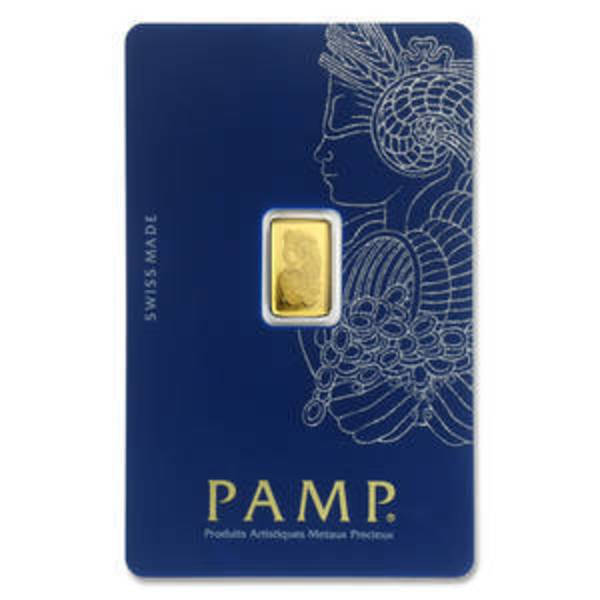 Compare gold prices of 2.5 gram Gold Bar - PAMP Suisse Lady Fortuna Veriscan® (In Assay)