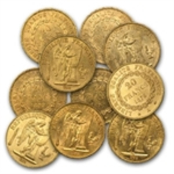 Compare gold prices of 20 Franc Gold Coin Random