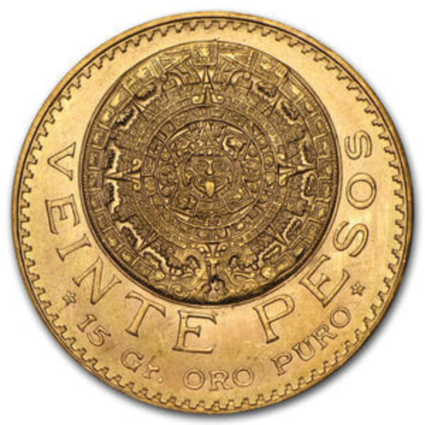 Compare gold prices of Mexico Gold 20 Peso