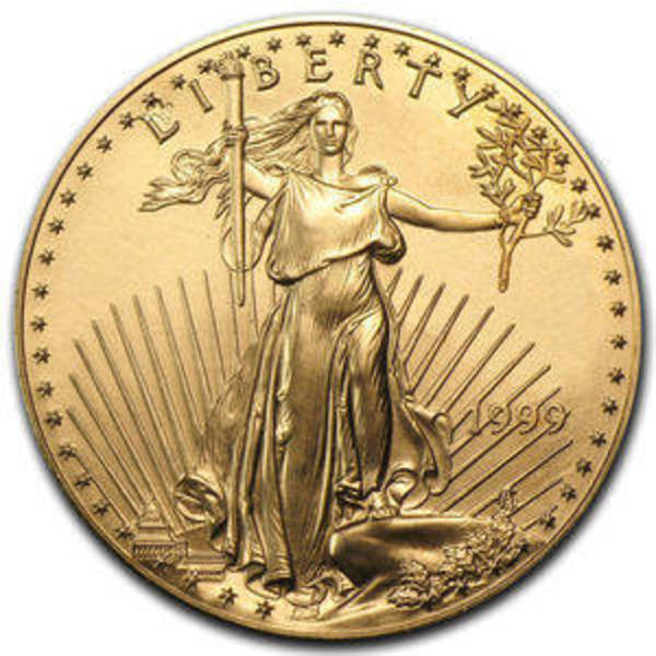 Compare Gold Prices Of 1 Oz American Eagle Random Year
