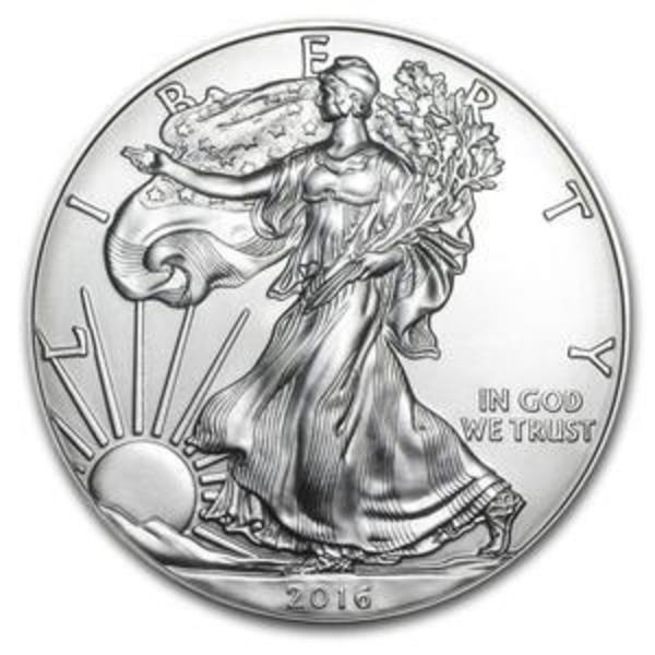 Buy 2016 Silver Eagles from SD Bullion