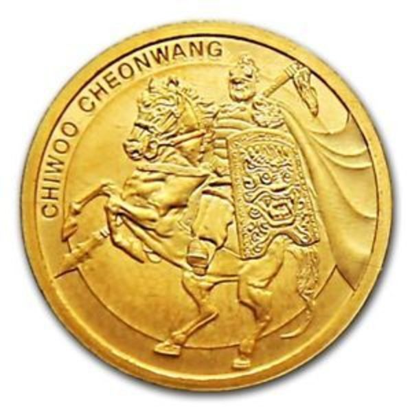 Compare gold prices of 2017 1/10 oz South Korean Chiwoo Cheonwang Gold Medallion