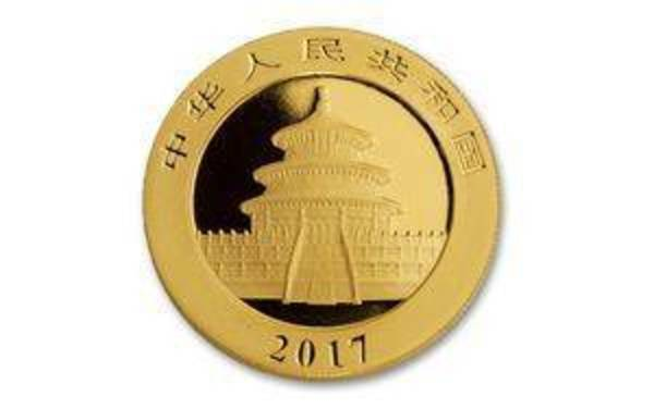 Compare gold prices of 2017 Chinese 1 Gram Gold Panda