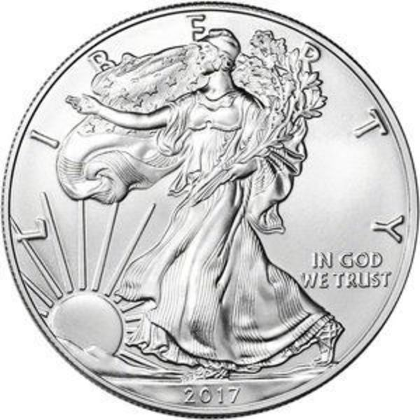 Compare silver prices of 2017 American Silver Eagle Coin