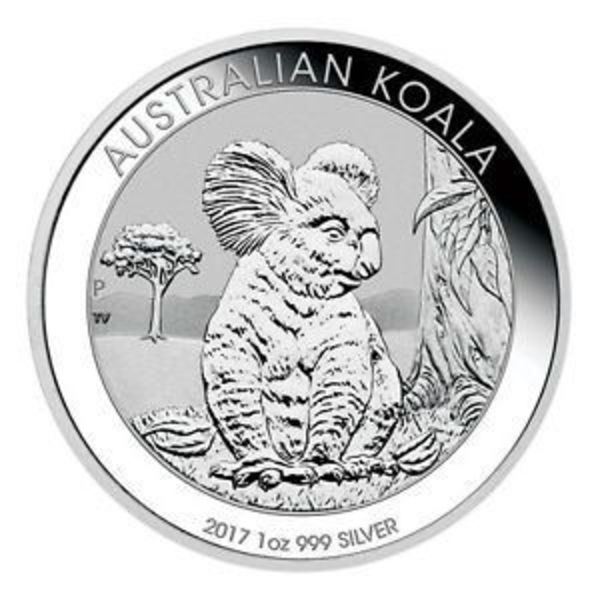 Compare silver prices of 2018 Australia 1 oz Silver Koala bullion