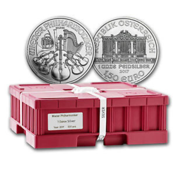 Compare 2018 Austria 1 oz Silver Philharmonic Monster Box prices