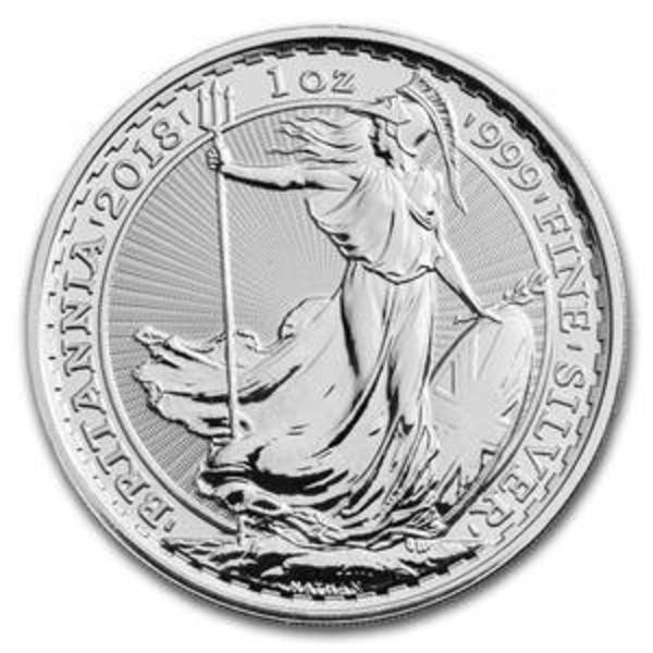 Compare silver prices of 2018 United Kingdom 1 oz Silver Britannia