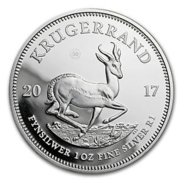 Compare cheapest prices of 2017 South Africa Silver Krugerrand