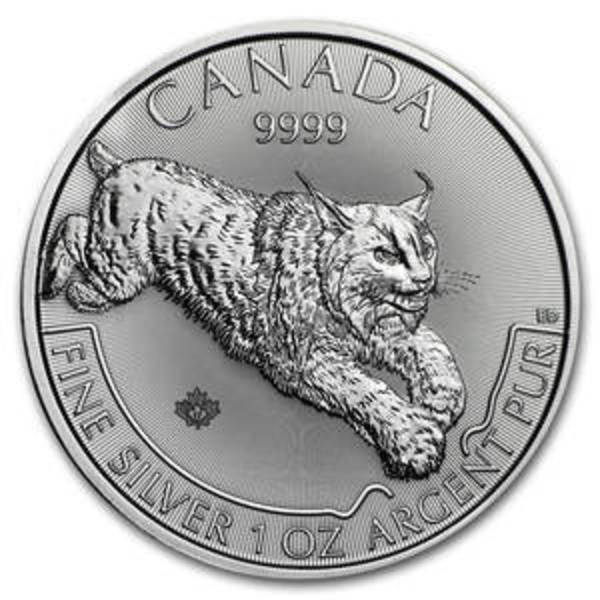 Compare silver prices of 2017 Canada 1 oz Silver Predator Series Lynx
