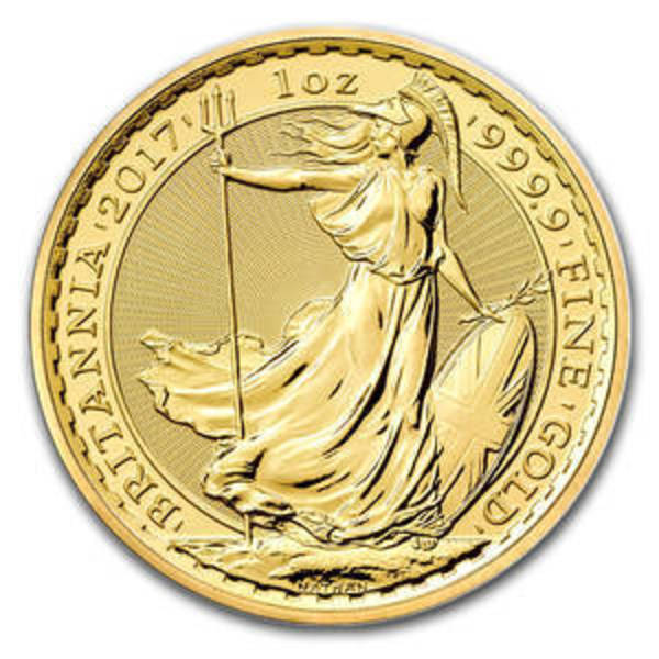 Compare 2017 United Kingdom 1 oz Gold Britannia prices