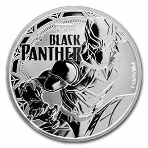 Compare silver prices of 2018 1 oz Tuvalu Black Panther Marvel Series Silver Coin