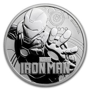 Compare silver prices of 2018 1 oz Tuvalu Iron Man Marvel Series Silver Coin