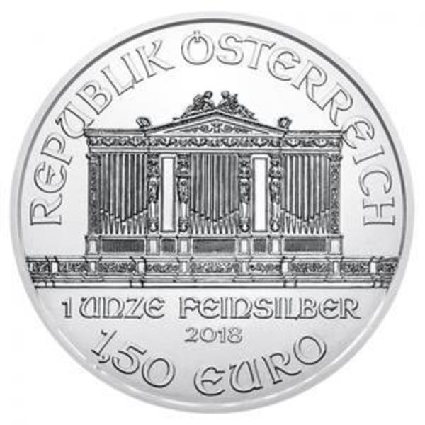 Compare silver prices of 2018 Austria 1 oz Silver Philharmonic