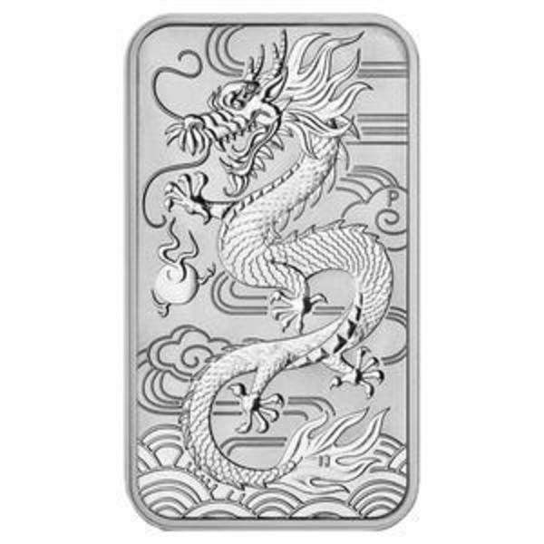 Compare silver prices of 2018 Perth Mint Dragon 1 oz Silver Bar Coin