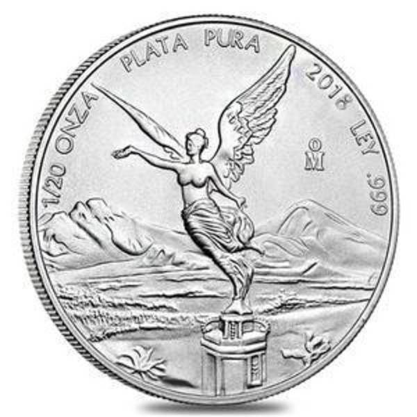 Compare 2018 1 oz Silver Mexico Libertad .999 Fine Silver Bullion Coin Brilliant Uncirculated prices