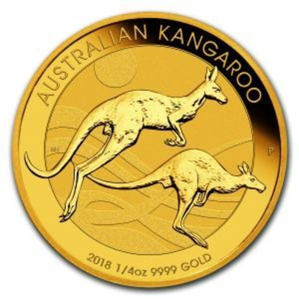 Compare gold prices of 2018 Australia 1/4 oz Gold Kangaroo