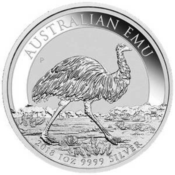 Compare silver prices of 2018 Australia 1 oz Silver Emu Coin
