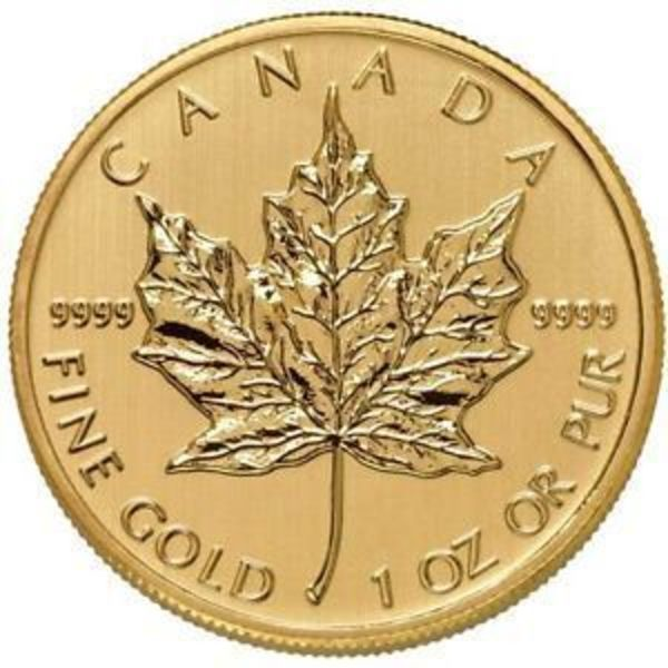 Compare 2018 1 oz Canadian Gold Maple Leaf $50 Coin .9999 Fine prices
