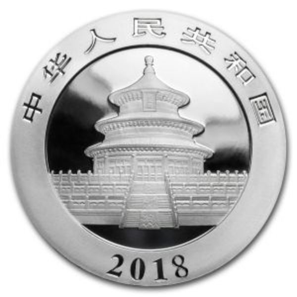 Compare silver prices of 2018 Chinese Silver Panda  30 Gram Coin