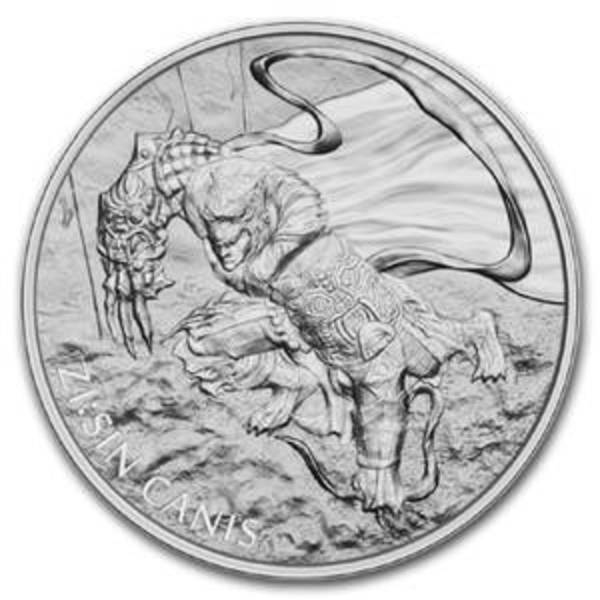 Compare 2018 South Korea 1 oz Silver ZI:SIN Canis prices